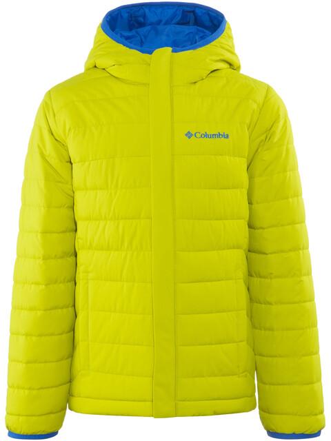 Columbia Powder Lite Jacket Children yellow